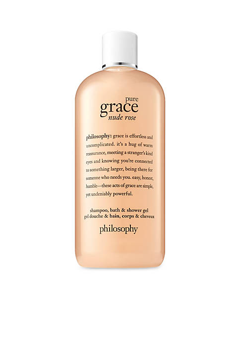 philosophy pure grace nude rose shower gel