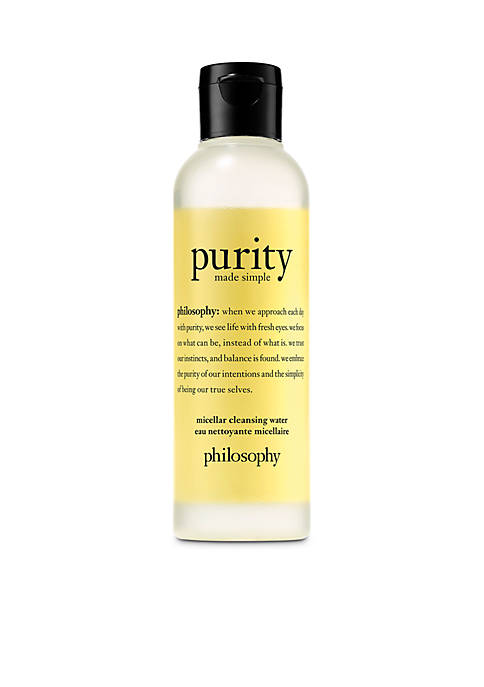 purity made simple micellar water