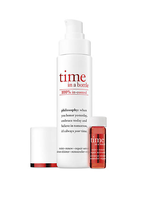 time in a bottle face serum