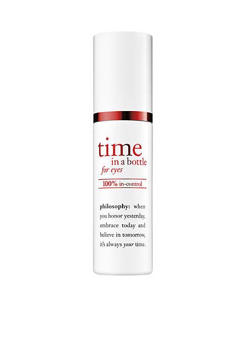 time in a bottle eye serum