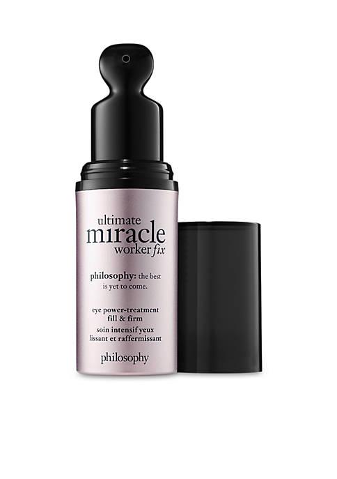 ultimate miracle worker eye fix serum