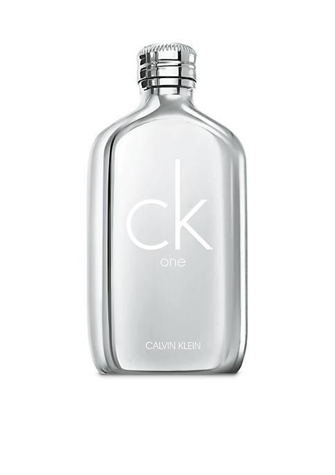 Calvin Klein One Platinum Edition