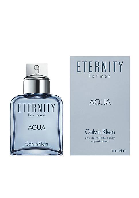 ETERNITY for Men Aqua Eau de Toilette Spray, 3.4 oz.