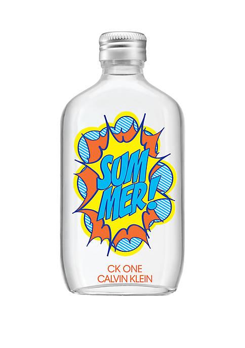Calvin Klein One Summer Edition