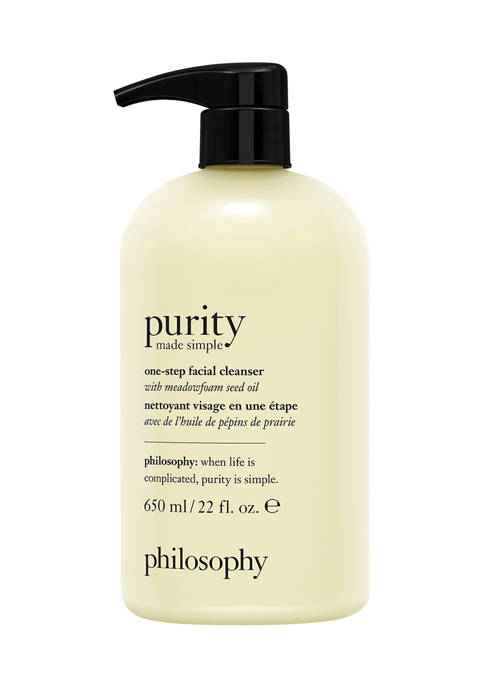 philosophy purity made simple one-step facial cleanser with