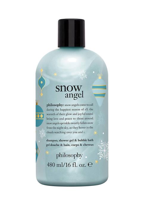 snow angel shampoo, shower gel & bubble bath