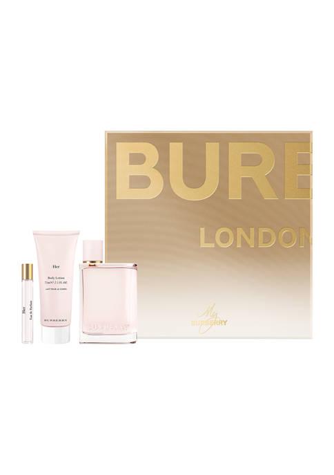 Burberry Her Eau de Parfum 3 Piece Giftset