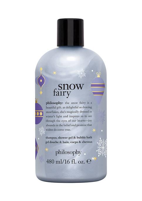 philosophy snow fairy shampoo, shower gel & bubble