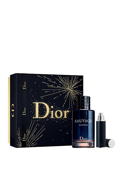 Christian Dior Perfume Sauvage Eau de Parfum 2pc