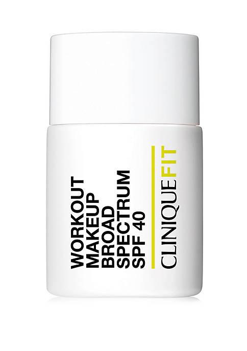 Clinique FIT Workout Makeup Broad Spectrum SPF 40