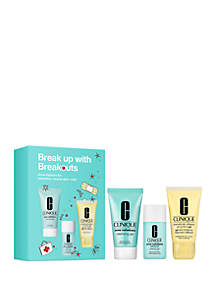 Clinique Break Up With Breakouts Skincare Set - $29 Value!