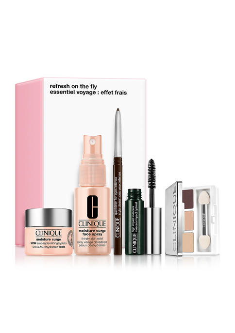 Clinique Refresh On The Fly Set