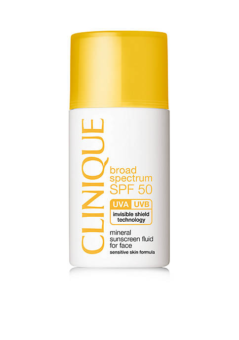 Clinique Broad Spectrum SPF 50 Mineral Sunscreen Fluid