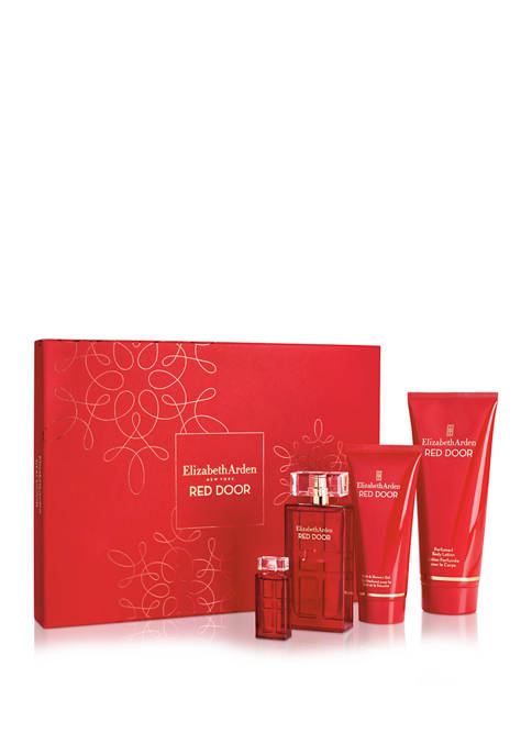 Red Door Eau de Parfum 4 Piece Fragrance Gift Set, Perfume for Women