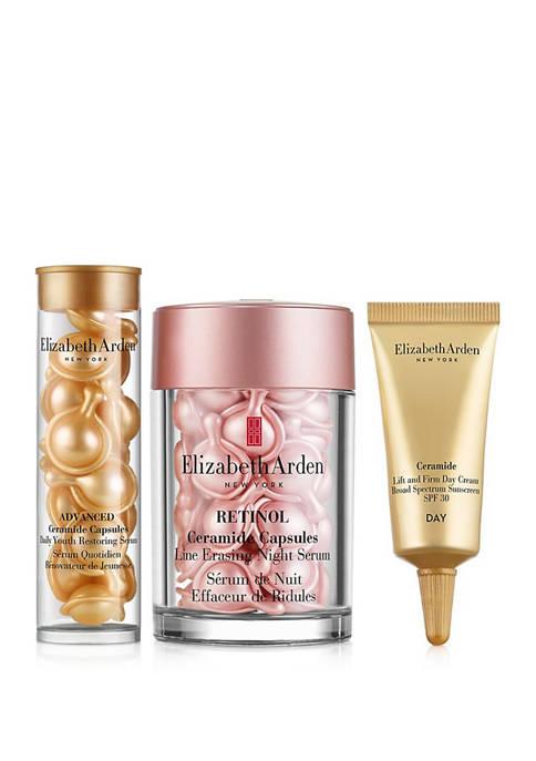 Elizabeth Arden Retinol Ceramide Skincare 3-Piece Gift Set