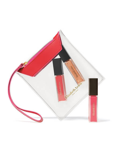 Elizabeth Arden Mini Lip Gloss, 3 Piece Makeup