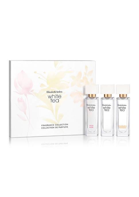 White Tea Mini 3 Piece Fragrance Gift Set Coffret, Perfume for Women