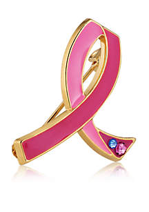 Pink Ribbon Pin Limited Edition Collectible