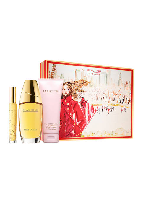 Beautiful Deluxe CollectionBeautiful 75ml EDPBeautiful 100ml Bdy LotionBeautiful 6ml Travel Spray