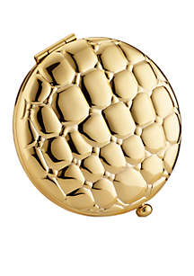 Golden Alligator Slim Compact Pressed Powder