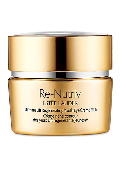 ReNutriv Ultimate Lift Regenerating Youth Eye Crème Rich