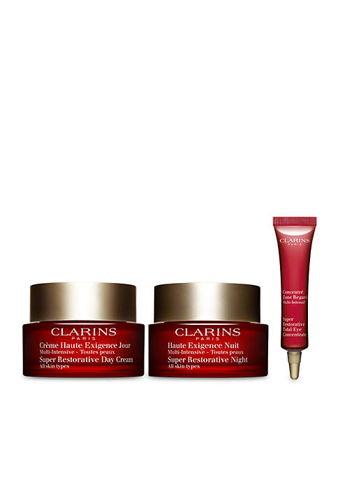 Clarins Youth Activating Routine Super Restorative Day and