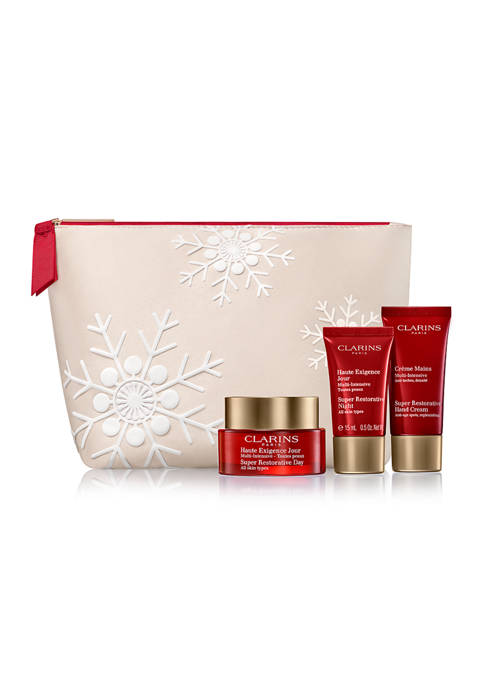 Clarins Super Restorative CollectionVisibly replenishes, lifts