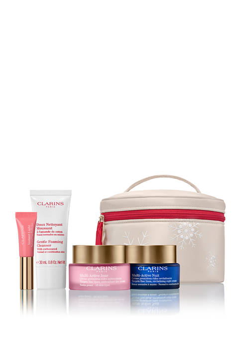 Clarins Multi-Active Luxury CollectionVisibly smoothes fine