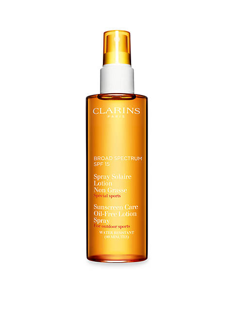 Clarins Sun Care Oil-Free Lotion Spray Moderate Protection