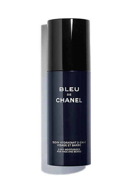 BLEU DE CHANEL 2-in-1 Moisturizer for Face and Beard