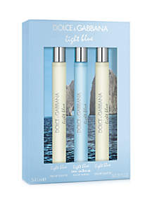 Dolce & Gabbana Light Blue Travel Spray Set