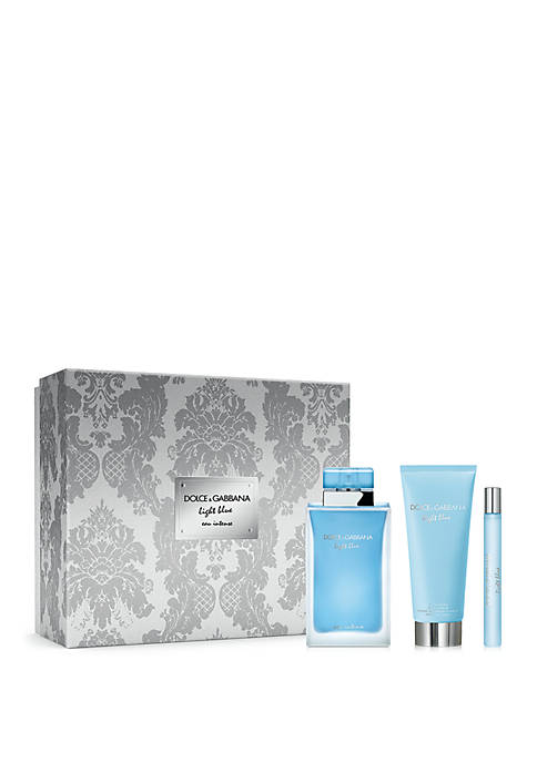 Dolce & Gabbana Light Blue Eau Intense 3-Piece