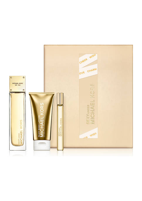 Michael Kors Sexy Amber 3-Piece Fragrance Holiday Gift