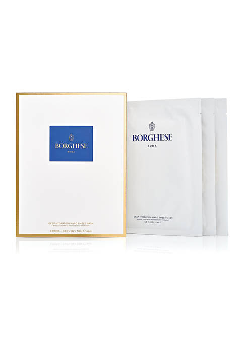Borghese Deep Hydration Hand Sheet Masks