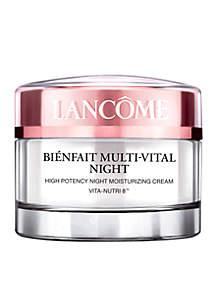 Lancôme Bienfait Multi-Vital Night Moisturizer Cream