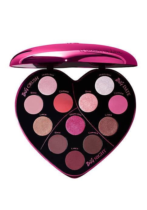 Monsieur Big Heart-Shaped Eyeshadow Palette - $176 Value!