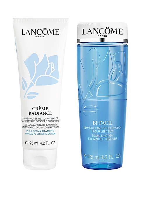 Lancôme Bi-Facil and Creme Radiance Cleansing and Clarifying