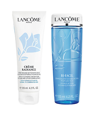 db0e510105e Lancôme Bi-Facil and Creme Radiance Cleansing and Clarifying Duo ...