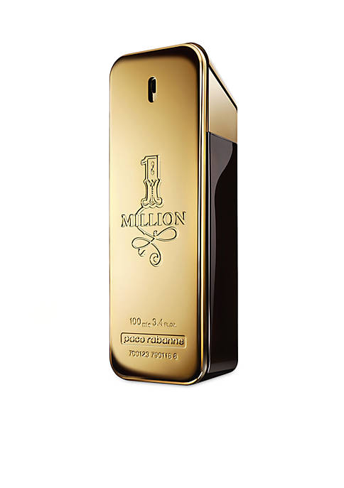 Paco Rabanne 1 Million Eau de Toilette, 3.4