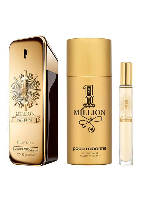 Paco Rabanne 1 Million Parfum 3 Piece Set