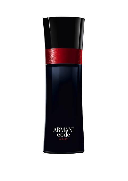 Giorgio Armani Armani Code A-List Eau De Toilette