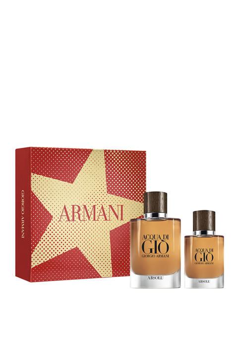 Acqua Di Giò Absolu 2-Piece Eau de Parfum Set
