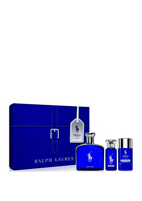 Ralph Lauren Polo Blue Eau de Parfum 3-Piece