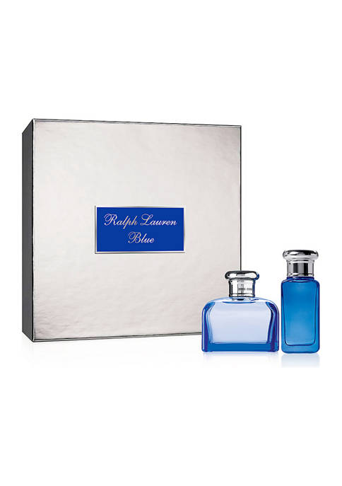 Ralph Lauren Blue 2 Piece Holiday Gift Set