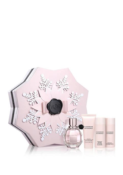 Flowerbomb Flowerflake 4 Piece Fragrance Set