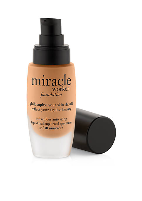 miracle worker foundation spf 30