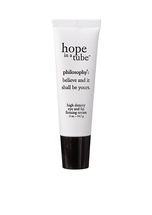 philosophy hope in a tube eye and lip