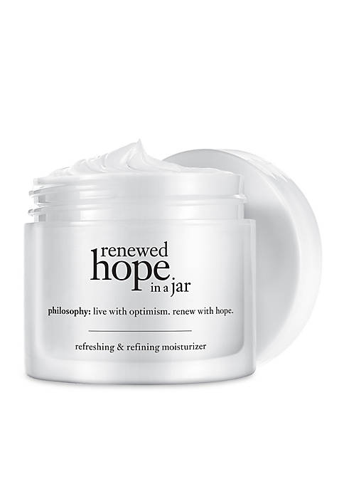 philosophy renewed hope in a jar dry moisturizer