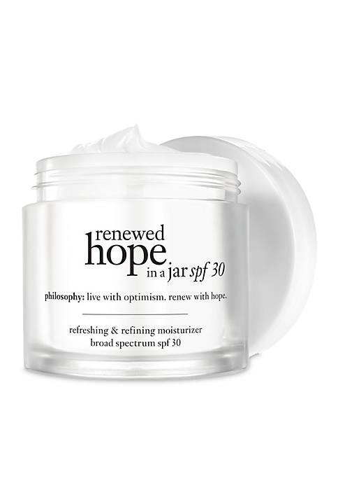 renewed hope in a jar spf 30