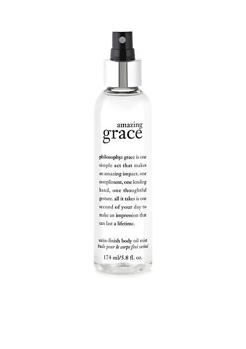 amazing grace satin-finish body mist